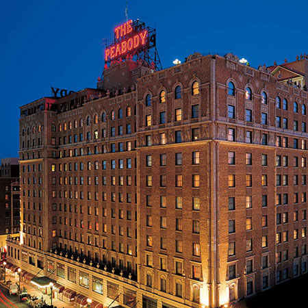 The Peabody Hotel, Memphis, TN